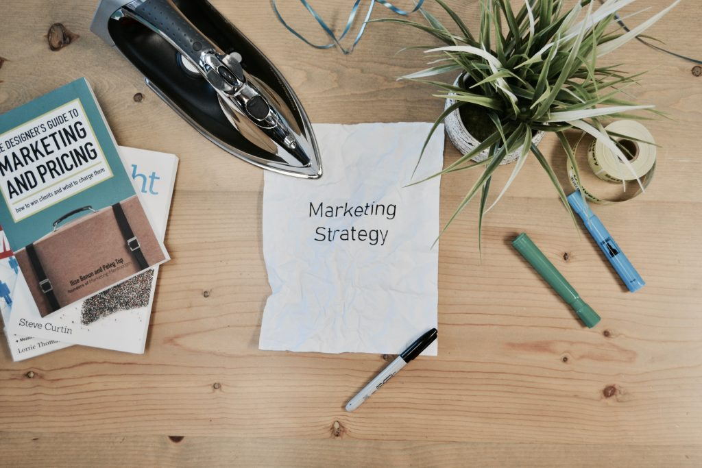 Marketing Strategy: the title of the blog