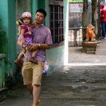 Kindergarten student in Vietnam