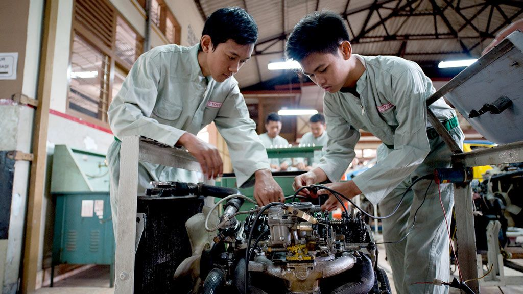Indonesia and Vocational Training (TVET)