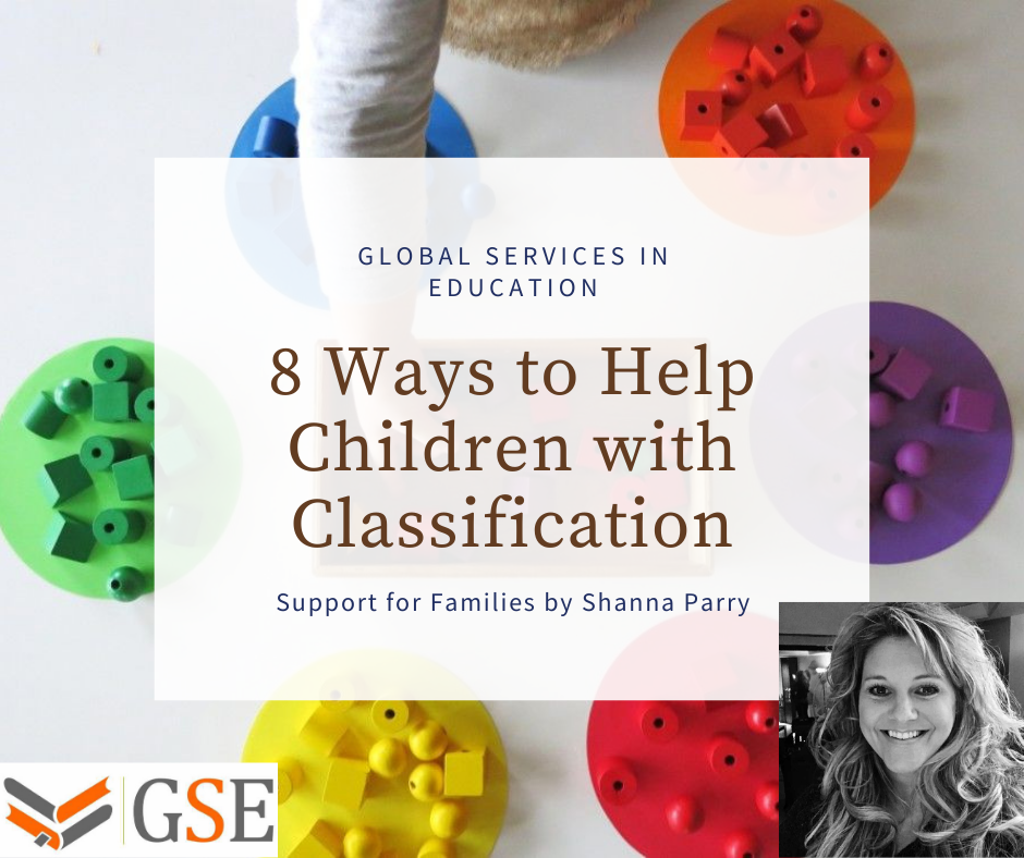 Ways to help children with classification