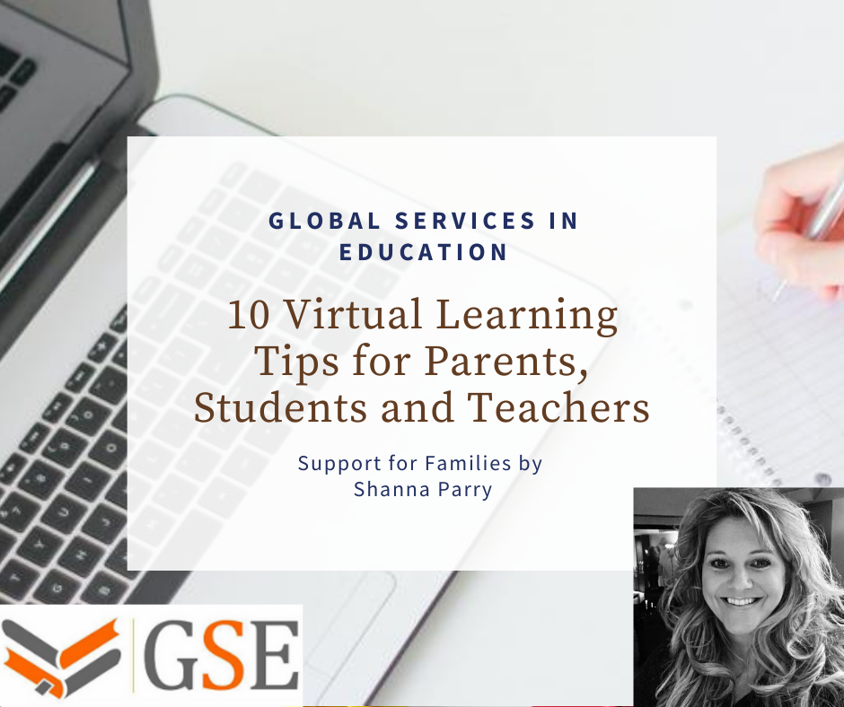 10 Virtual Learning Tips for Parents, Students and Teachers